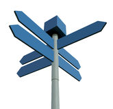 Directional sign post Stock Photography