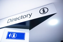 Directional Signages Royalty Free Stock Images