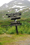 Directional Signpost royalty free stock photos