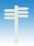 Directional signpost Royalty Free Stock Photo