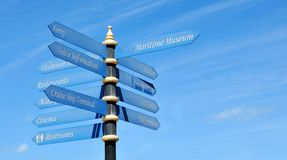 Directional Signs Royalty Free Stock Photos