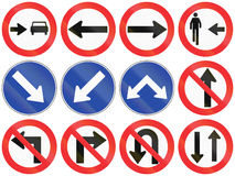 Directions In Chile Royalty Free Stock Photos