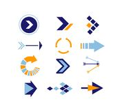 Directions Icons  2 Stock Images