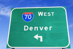 Directions to Denver Stock Photos