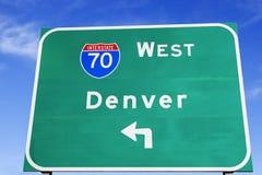 Directions to Denver Stock Photos