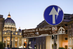 Directions to tourist areas royalty free stock photography