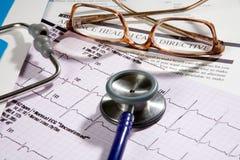 Directiva paciente del cuidado médico Imagen de archivo