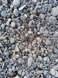 Directly above shot of pebbles on beach. Directly above shot of pebbles on a beach Stock Photography