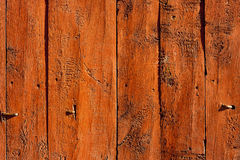 Directly above view of a wooden background. Royalty Free Stock Photo