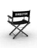 Director�s chair Stock Photo
