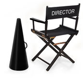 The director Royalty Free Stock Image