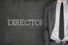 Director on blackboard Stock Photos