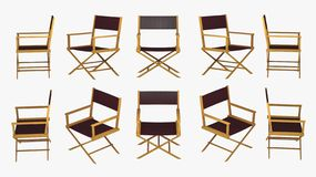 Director Chair Foto de archivo