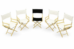 Director chair Stock Images