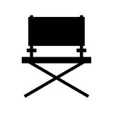 Director chair cinema icon Royalty Free Stock Photo