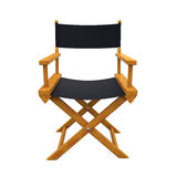 Director Chair Isolated. On white background. 3D render vector illustration