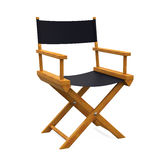 Director Chair Isolated. On white background. 3D render Royalty Free Stock Photo