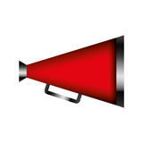 Director cinema megaphone icon Royalty Free Stock Photos