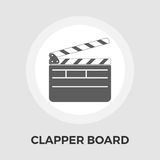 Director clapperboard flat icon Royalty Free Stock Photo