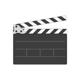 Director clapperboard icon. Royalty Free Stock Images