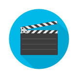 Director clapperboard vector icon. Stock Photos