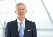 Director de banco mayor Imágenes de archivo libres de regalías