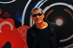 Director de cine SABU del festival de cine internacional de Jap?n 41.o Mosc? imagen de archivo libre de regalías