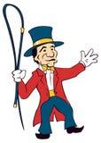 Director de pista de circo Imágenes de archivo libres de regalías