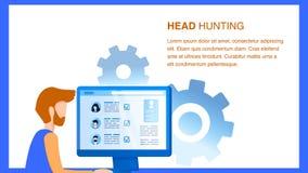 Director de recursos humano Search Employee Online libre illustration