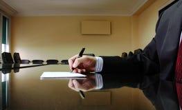 Director empresarial Foto de Stock