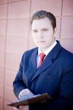 Director empresarial fotos de archivo