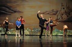 The director guidance rehearsal-ballet Swan Lake Stock Photo