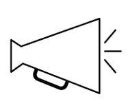 director megaphone isolated icon design Stock Photo