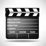 Director movie clapper Stock Image