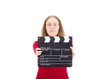Director producing new movie Stock Image