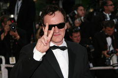 Director Quentin Tarantino Royalty Free Stock Photo