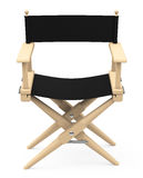 The director's chair. 3d generated picture of a director's chair Stock Photos