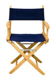Director's Chair Isolated Royalty Free Stock Photo