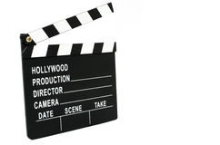 Director's clapboard Royalty Free Stock Image
