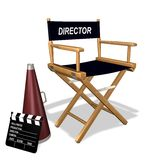 Directors equipment Stock Photo