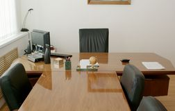 The director's office Royalty Free Stock Image