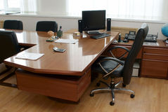 The director's office. The interior of director's office Royalty Free Stock Image