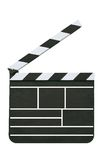 Director's slate board Royalty Free Stock Photos