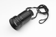 Viewfinder of director movie. Director viewfinder on a white background royalty free stock photo