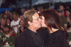 Director William Friedkin and Sherry Lansing Royalty Free Stock Image