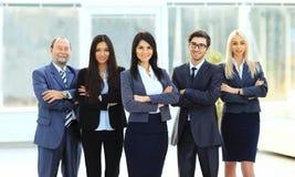 Director y equipo del negocio Fotografía de archivo