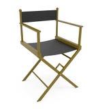 Directores Chair aislada en blanco Fotos de archivo