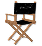 Director chair Royalty Free Stock Photo