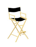 Directors Chair. Is hand drawn original artwork.  The vector file is in AI-EPS8 format Stock Photos