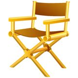 Directors chair Royalty Free Stock Photo